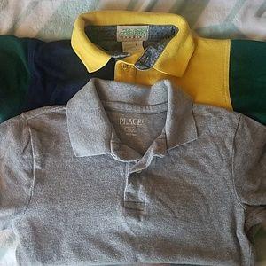 Bundle 2 collar short sleeve Boys 4/5